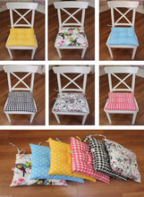 Comfortable Seat Pads, Garden Kitchen Dining Chair Cushions Many Designs Tie On