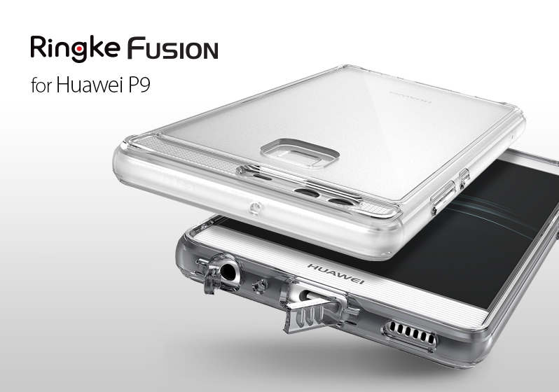 [Ringke] Ringke Fusion Smart Phone Case For P9