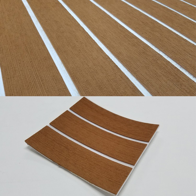 Melors Marine Supply Non-skid EVA Foam Sheet Boat Yacht Decking Synthetic Teak