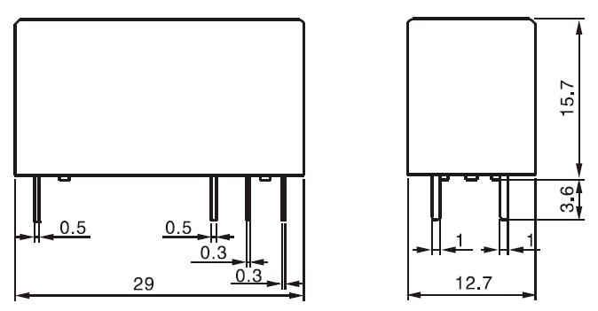 lectromagn tique double contact 12 volts r frig rateur relais prix mini s curit puissance. Black Bedroom Furniture Sets. Home Design Ideas