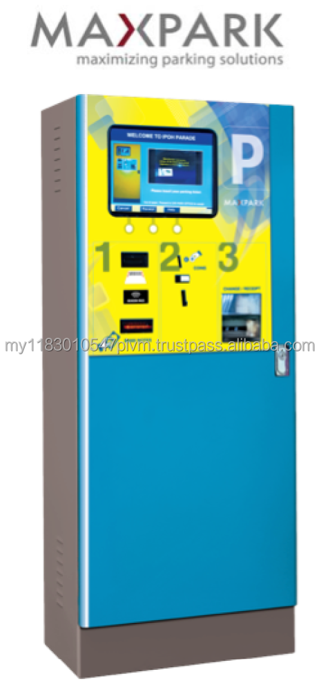 High Quality Automated Car Park Payment Station with Season Parking Payment Function (Car Parking System Solution recommended)