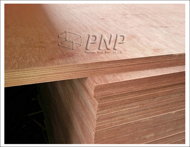 Hardwood core, waterproof glue, keruing face of 28mm Container Flooring Plywood for building or repairing container floor