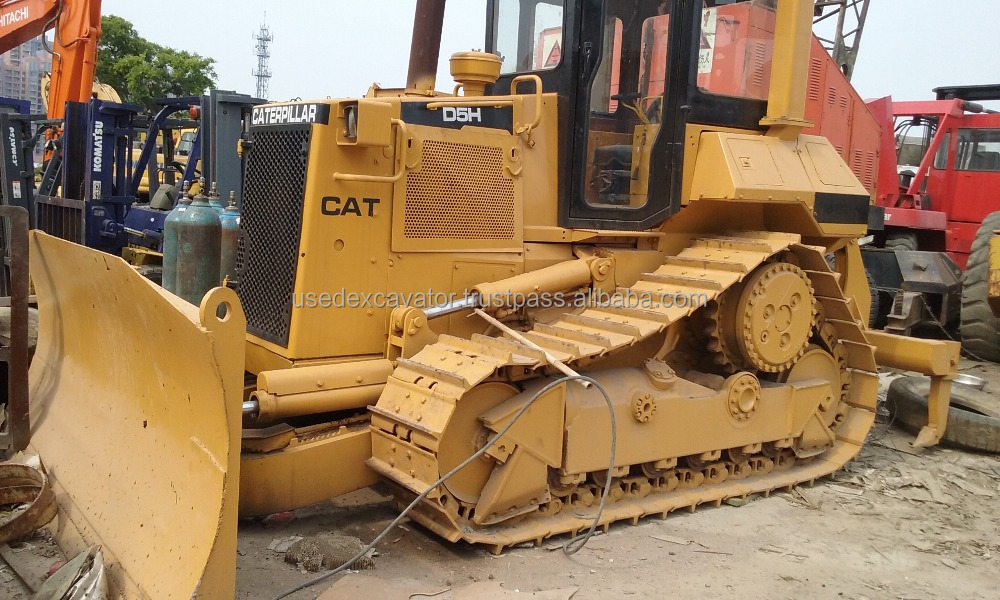 China Second hand Caterpillar D5H Mini Bulldozer /Used CAT D3 D4H D4C D5G D5M Bull Dozer