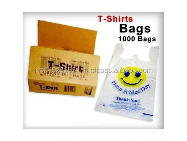 Solpack High-Capacity T-shirt Packaging Bags