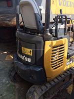 Used Komatsu PC18MR crawler digger Original Japan mini digger used DIGGER