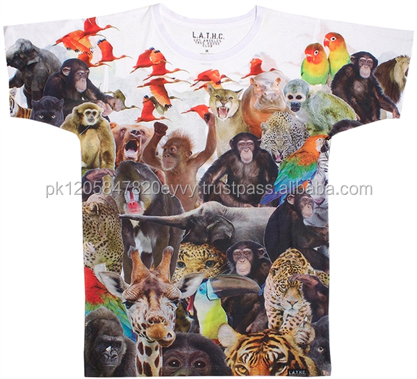 blue t shirt sublimation t-shirt printing