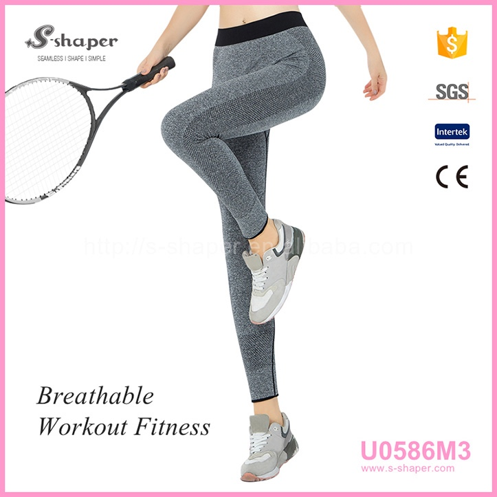 Fashion Newest Design Yoga Leggings With Pocket For Mobile,Women Vogue Yoga Pants Leggings