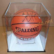 Acrylic Display Ball Box Case/Rackpromotional Basketball Stand/Promotional Basketball Stand