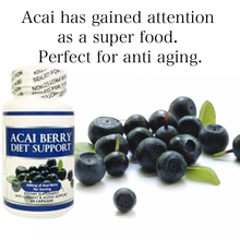 Powerful antioxidant easily absorbed acai berry supplement , other diet products available