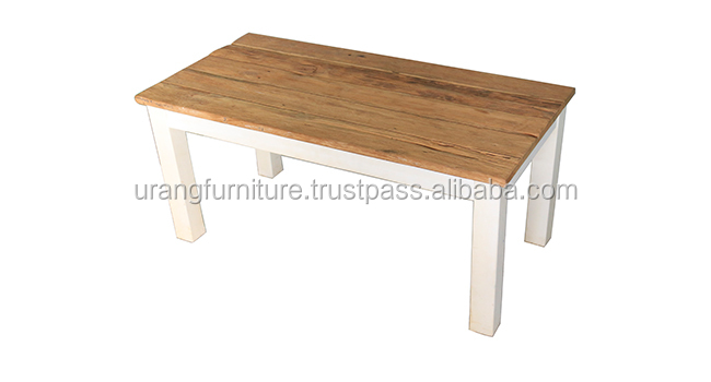 Coffee Table Recycle Teak Wood Furniture