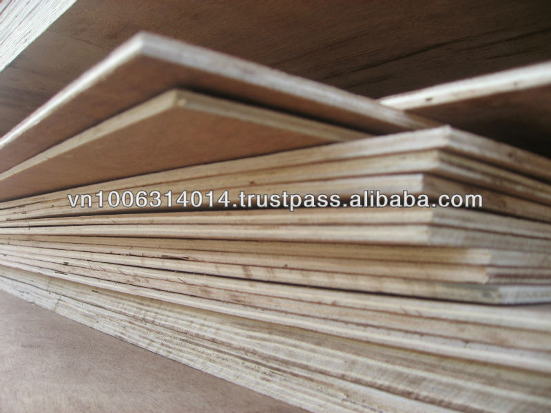 Hot sell Eucalyptus or Acacia plywood from KEGO Company in Vietnam