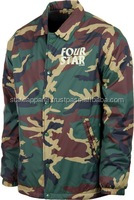 Whole sale Coach Jacket / USA Army Camo Design / Coach Jacket