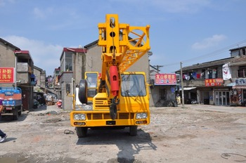 Made in Japan 25ton Truck Crane used in Construction Work for Sale