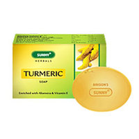 Herbals Turmeric Soap Enriched with Aloevera and Vitamin E.