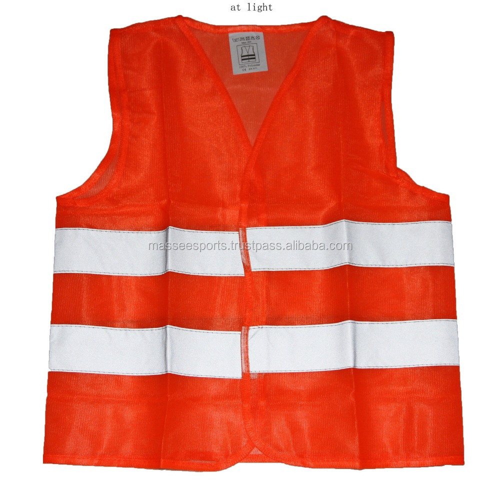 Wholesale suppliers custom logo safety vests