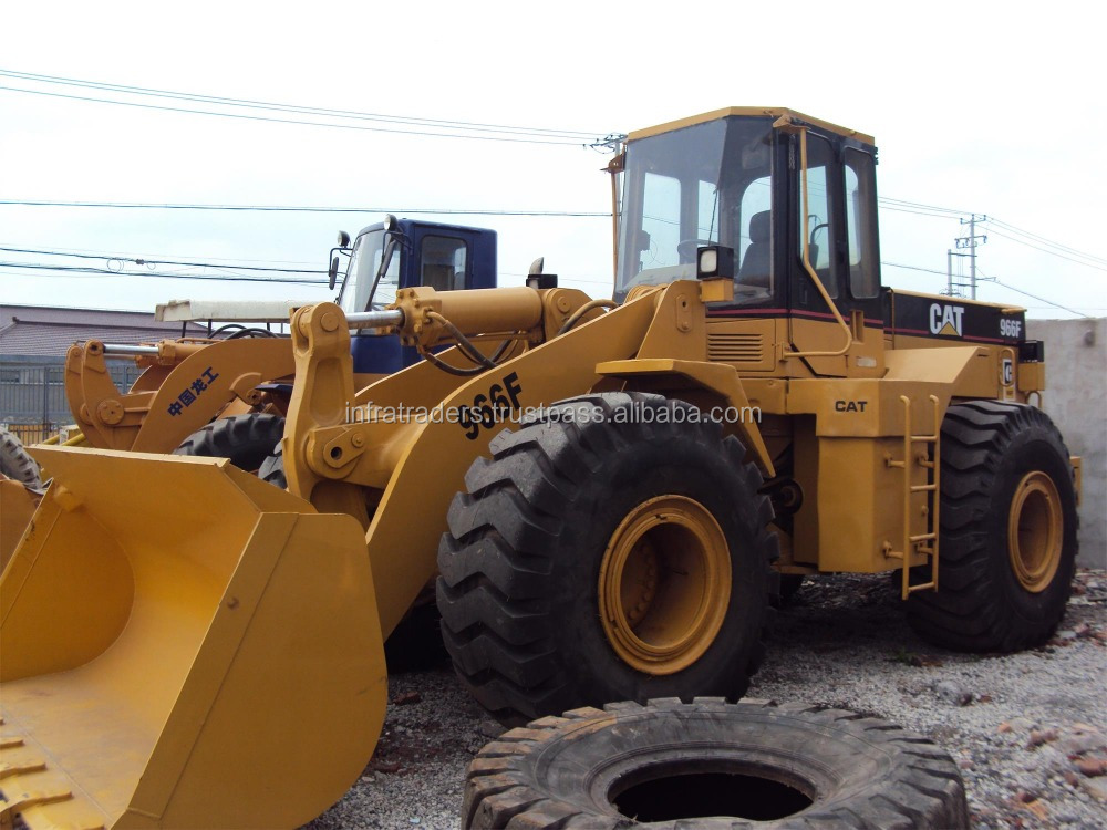Original wheel loader CAT966F for sale Good condition machine,Japan original