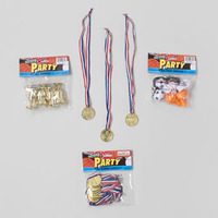 PARTY FAVOR SPORT THEME 3AST 6PC WHISTLE/4PK TROPHY/8PK MEDAL #G24831