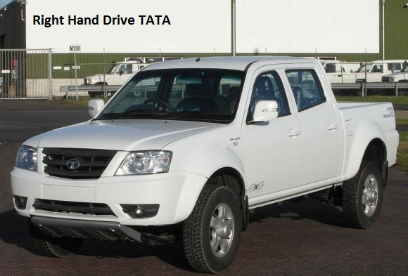 7 x Tata Xenon 2.2 DLE double cab 4x4 Right Hand Drive Europe