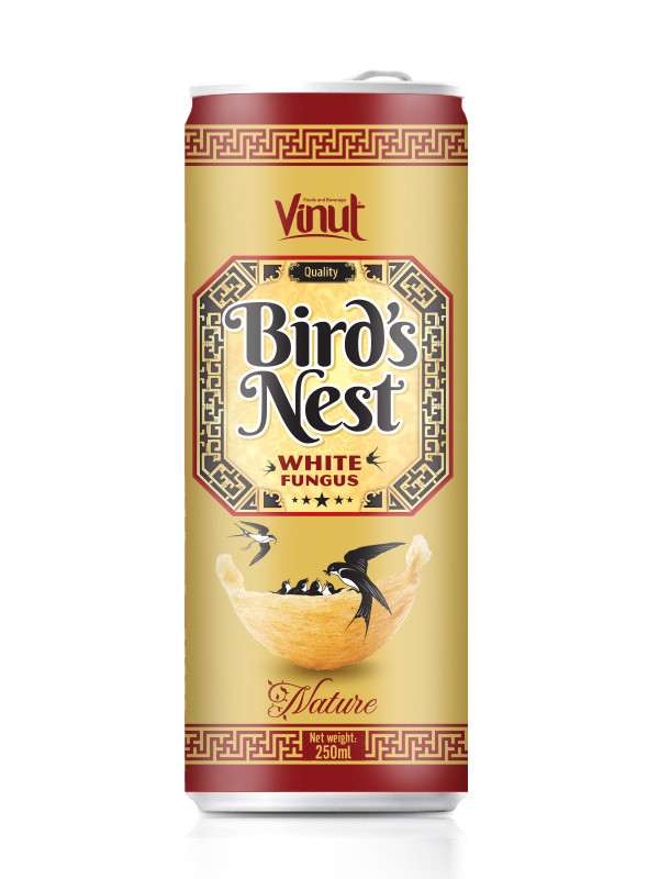 250ml Wholesale Natural Bird's Nest in Aluminum can