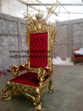 Luxurious Classic Carving Jacko's Chair European Furniture