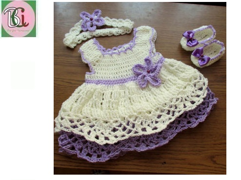Beautiful Crochet Baby Dress Crochet Cloths
