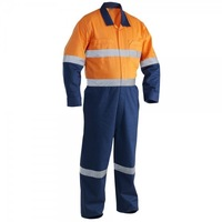 HiVis Cotton Drill Overal - Safety workwear