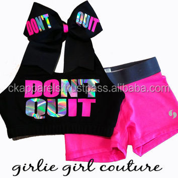 customized practice wear girls uniform