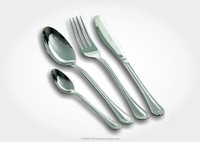 Cutlery in stainless steel 18/C Mod Impero