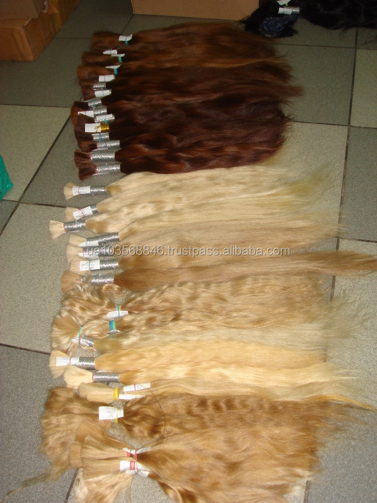 100% real mongolian natural raw unprocessed human hair material