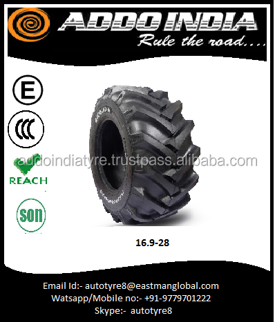 Self cleaning Agriculture Tractor Tyre 16.9 28