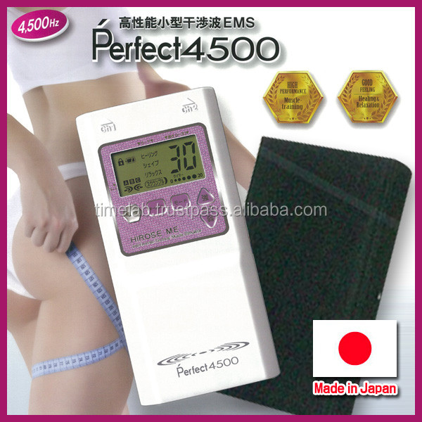 Innovative and Easy to use body massager Perfect4500 for personal , product by Japan