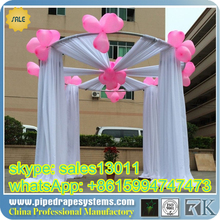 WHOLESALE event wedding aluminum backdrop stand pipe drape LOWEST PRICE photo booth package/ wedding tent