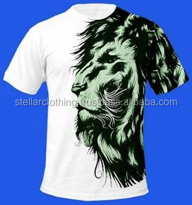 Custom Design Sublimation Printed T shirts, 3D sublimation T shirts, Digital Sublimation Printed T shirts