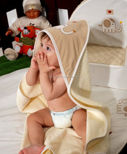 Combed Cotton Baby Hooded Towels