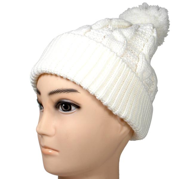Baggy Hat Knitting Pattern : Wholesale Pom Pom Baggy Knitted Beanie/cable Beanie Hat Knitting Pattern/cabl...