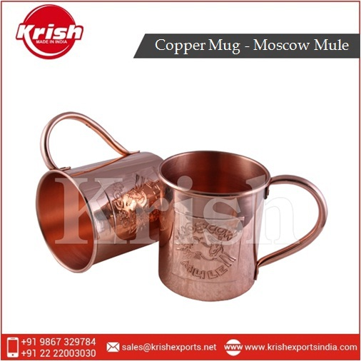 Manufacturer of Pure Moscow Mule Copper Mug