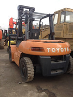 Used Toyota Forklift FD70,Original From Japan Used Toyota Forklift 7 ton