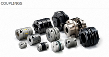 Lightweight coupling for industrial use ,torque limiter also available