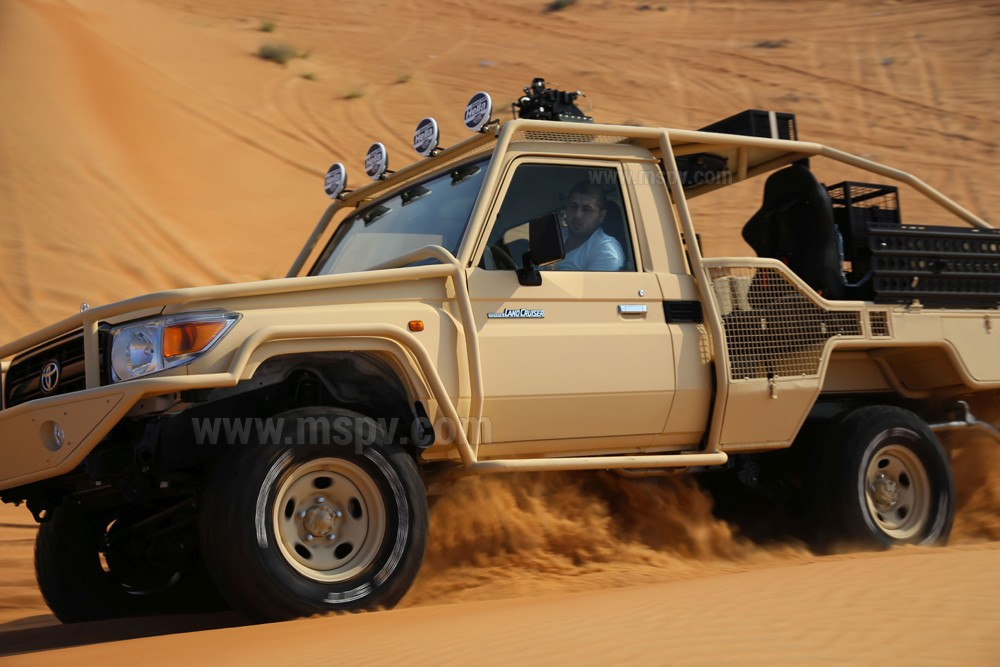 LIGHTWEIGHT OFF-ROAD VEHICLE Toyota Land Cruiser - MSPV Armoured Vehicles