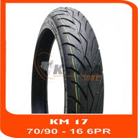 70/90-16 6PR - MOTORCYCLE TIRE TUBELESS - BEST QUALITY - GOOD PRICE