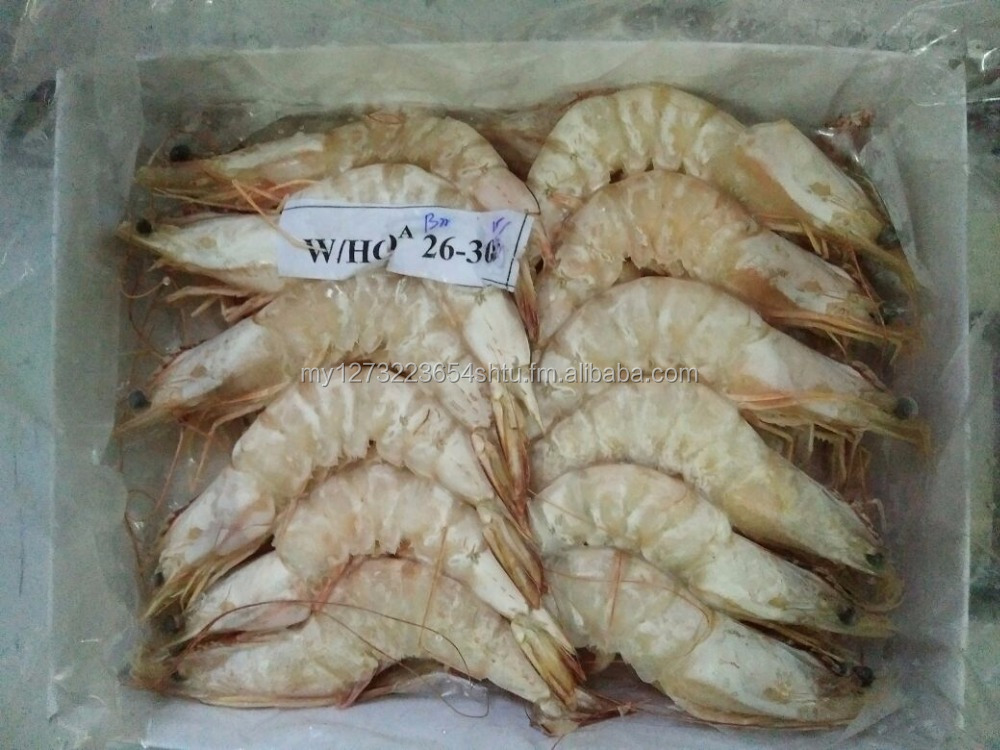Frozen Prawn and fish