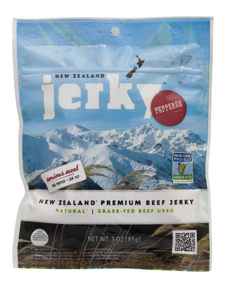 New Zealand Jerky - beef Jerky - Peppered Flavor