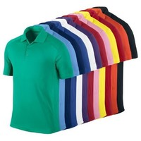 %100 Cotton Short Sleeve Polo T-shirt With Many Color Variation And Huge Quantity