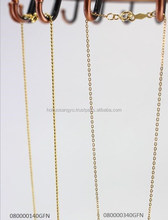 Elegant-looking long-lasting 14K gold filled chains in various lengths