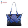 PU Leather Origami Design Tote Bag