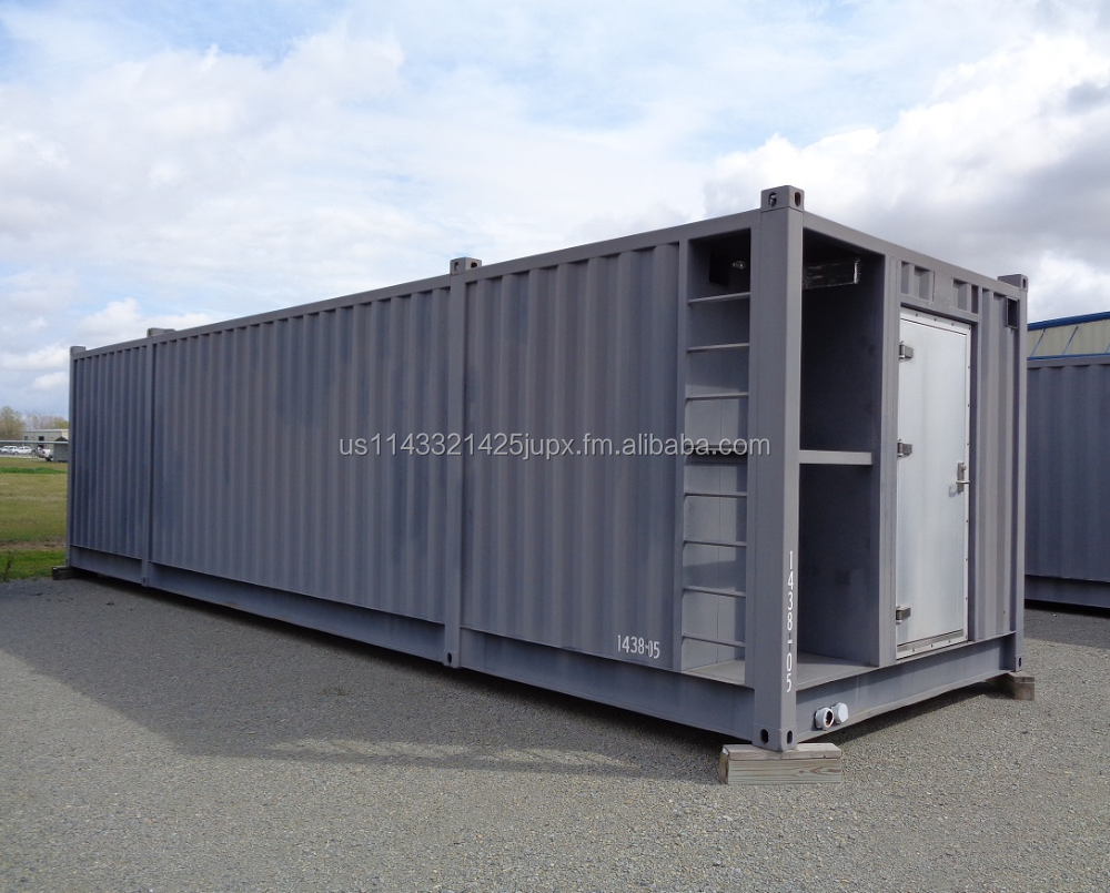 11' (3350mm)W x 10' (3048mm)H x 38' (11582mm)L Steel / Modular/ Container / Accommodation / Sleeper Module