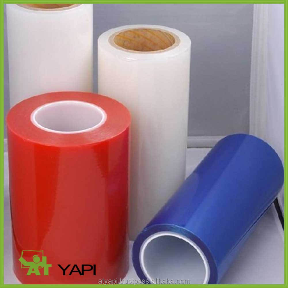 PE Surface Protection Film Transparent Stretch Pe Cling Wrap Film For Food