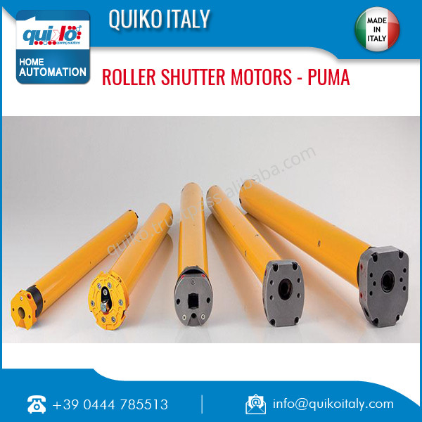 Quiko Italian Tubular Motors For Shutters / Awnings Made in Italy