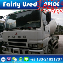 Fairly Used Mitsubishi Fuso Concrete Mixer Truck with 8 Cylinders for sale