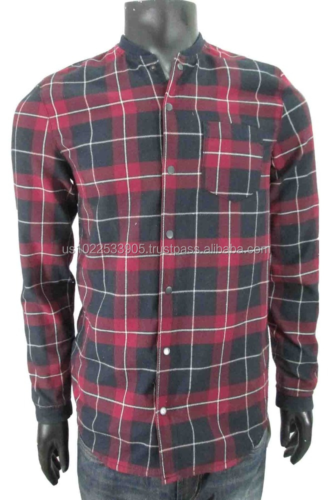 Fitted Medium Check Shirt
